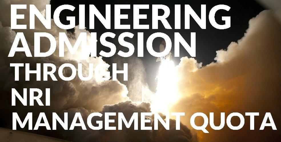 Admission Through Management Quota in Engineering College