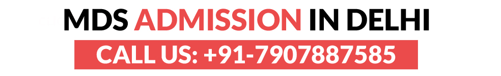 MDS admission in Delhi Contact