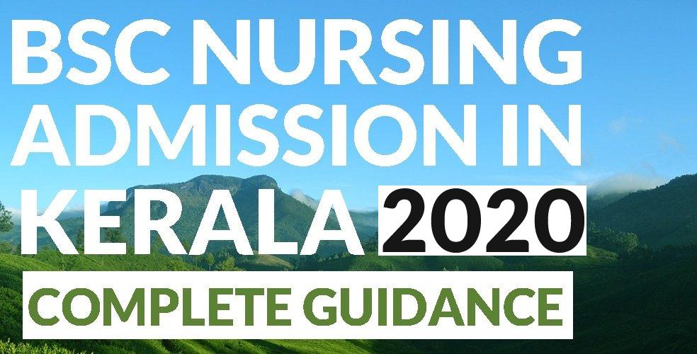 BSc Nursing Kerala Admission Banner