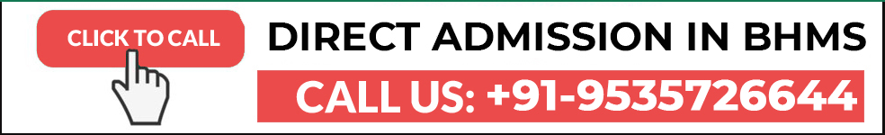 Direct admission in Homeopathy India