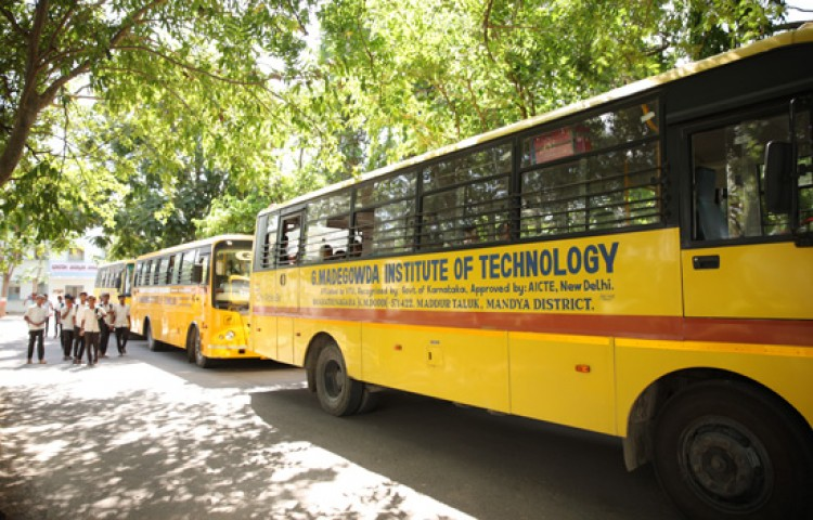 G Madegowda BNYS College Transporation