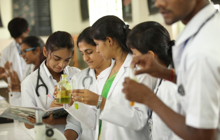 G Madegowda BNYS College Labs