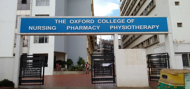 Oxford Nursing COllege Bangalore 1