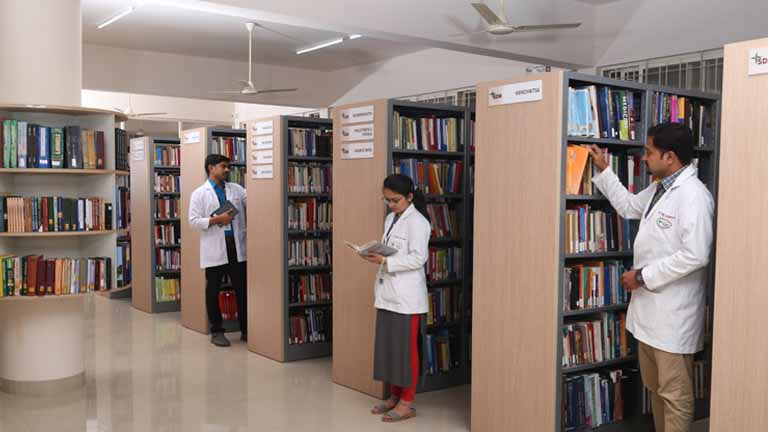 SDM College of Naturopathy and Yogic Sciences Udupi Library