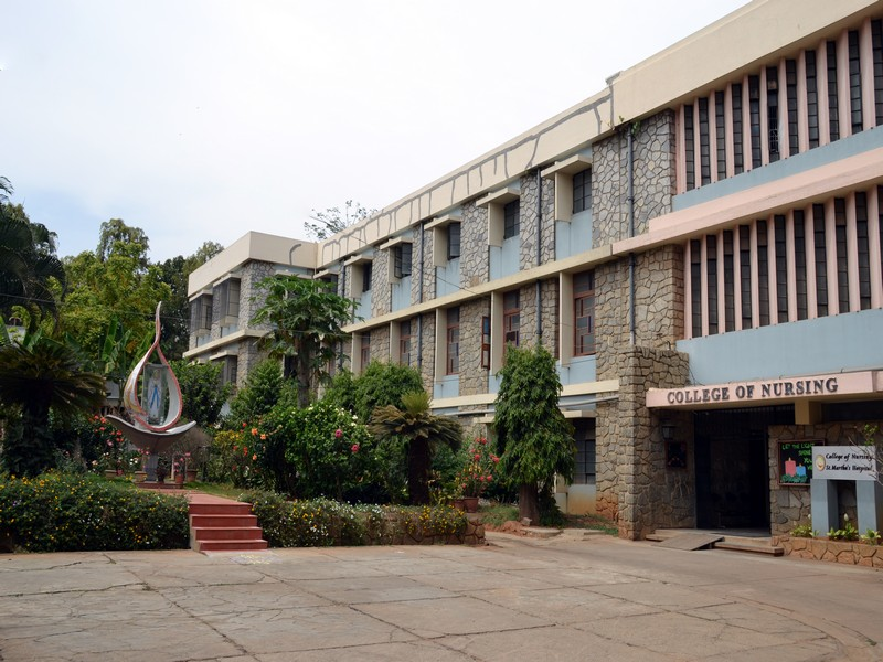 St Marthas College of Nursing Bangalore 1